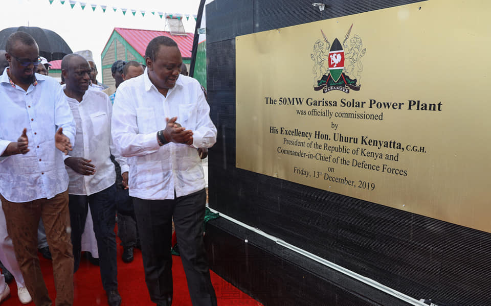 centrale solaire au kenya